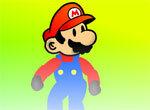 Марио летом на сноуборде