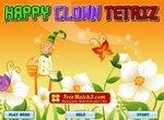 Тетрис-картинка с веселым клоуном