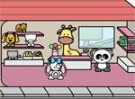Магазин игрушек и сладостей