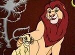 Раскраска: Король Лев