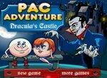 Бродилки Пакмана по замку Дракулы