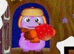 Пазл: Лунтик с ягодкой