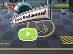 Обслуживание в космическом ресторане