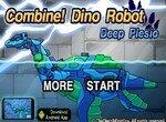Сборка робота динозавра Плезиозавра