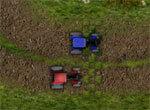 Кольцевые гонки на тракторе