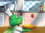 Дракоша на кухне