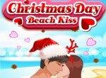 Рождественские поцелуи на пляже