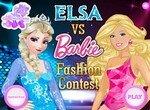 Барби против Эльзы на конкурсе красоты