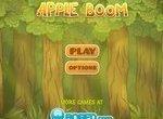 Ежики взрывают яблоки