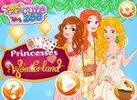 Диснеевские принцессы в стране Чудес