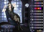 Модная одевалка девушки вампира
