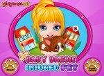 Малышка Барби: Лечим раненого щенка