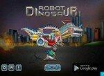 Робот динозавр рвется в бой