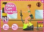 Холодное сердце: Анна тренируется в спортзале