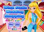 Стелла Винкс на свадебном шопинге