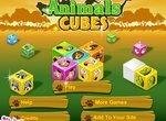 Маджонг для детей: Кубики с животными