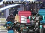 Уникальный робот Черный Смилодон