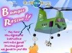Спасение людей и животных с вертолета