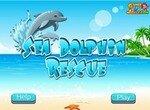 Спаси раненого дельфина