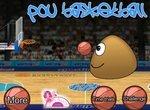 Поу учится играть в баскетбол