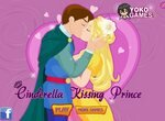 Золушка целует прекрасного принца