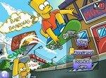 Барт катается на скейте 2