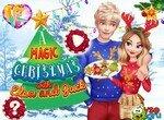 Джек и Эльза готовятся к Рождеству