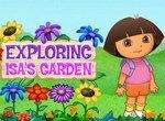 Даша исследует сад Исы