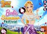 Барби собирается на летний фестиваль