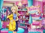 Гардеробная комната Барби