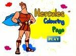 Раскрась картинки с Геркулесом