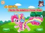 Радужный стиль пони Пинки Пай