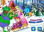 Побег принцессы Джульетты из зимнего домика