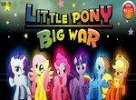 Маленькие пони в жестокой войне
