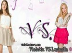 Виолетта против Людмилы: Бег с препятствиями