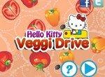 Hello Kitty: Вождение между овощами