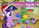 Пони Твайлайт готовится к Рождеству