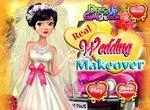 Последние приготовления невесты к свадьбе