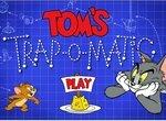Том расставляет ловушки на Джерри