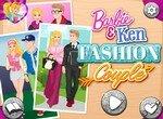 Одень Барби и Кена для обложки журнала