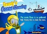 Луни Тюнз: Малыш Твити чистит океан