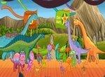 Поезд динозавров: Открытие парка