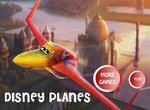Самолеты Летачки: Пазл-Пятнашки