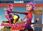 Город героев: Хани Лемон гоняет на байке