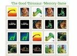 Хороший динозавр: Одинаковые карточки