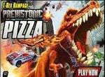 Динозавр охотится за пиццей