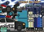 Робот Тарбозавр помогает полиции