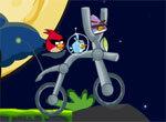 Злые птицы на космическом велосипеде