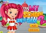 Одевалка в школьную форму 2