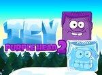 Заледенелая фиолетовая голова 2